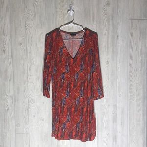 Venus vneck 3/4 sleeve dress size 2